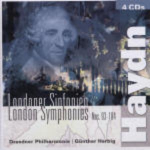 Sinfonie n.93, n.94, n.95, n.96, n.97, n.98, n.99, n.100, n.101, n.102, n.103, n.104 - CD Audio di Franz Joseph Haydn,Günther Herbig,Orchestra Filarmonica di Dresda