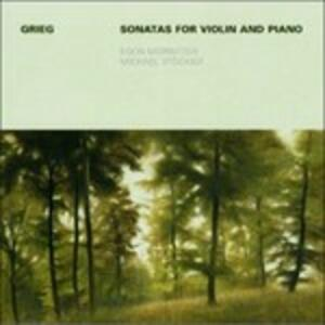 Sonate per violino e pianoforte - CD Audio di Edvard Grieg