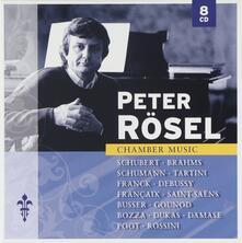 Musica da camera - CD Audio di Johannes Brahms,Claude Debussy,Franz Schubert,Robert Schumann,Giuseppe Tartini,Peter Rösel