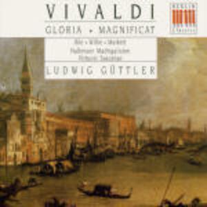 Gloria - Magnificat - CD Audio di Antonio Vivaldi,Ludwig Güttler