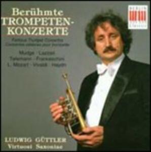 Famosi concerti per tromba - CD Audio di Ludwig Güttler,Virtuosi Saxoniae