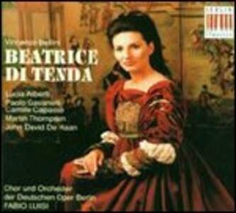 Beatrice di Tenda - CD Audio di Vincenzo Bellini,Lucia Aliberti,Fabio Luisi