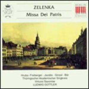 Missa Dei Patris - CD Audio di Jan Dismas Zelenka,Ludwig Güttler,Virtuosi Saxoniae