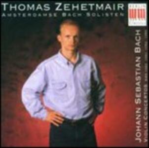 Concerti per violino n.1, n.2 - CD Audio di Johann Sebastian Bach,Thomas Zehetmair,Ivan Fischer,Budapest Festival Orchestra