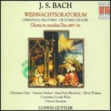 Oratorio di Natale BWV248 - Cantata BWV191 - CD Audio di Johann Sebastian Bach,Ludwig Güttler,Virtuosi Saxoniae
