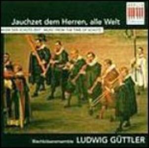 Musica al tempo di Schütz. Opere per tromba e organo - CD Audio di Ludwig Güttler,Friedrich Kircheis