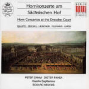Concerti per corno alla corte di Dresda - CD Audio