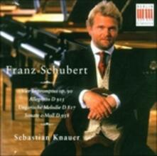 4 Impromptus op.90 - Allegretto D915 - Melodie ungheresi D817 - Sonata D958 - CD Audio di Franz Schubert,Sebastian Knauer