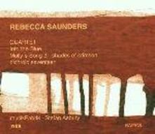 Into the Blue - Quartetto con accordeon - Molly's Song 3-Shades of Crimson - Dichroic seventeen - CD Audio di Rebecca Saunders