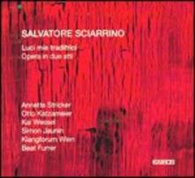 Luci mie traditrici - CD Audio di Salvatore Sciarrino