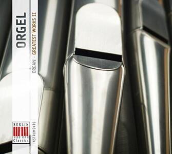 Orgel 2, Greatest Works - CD Audio