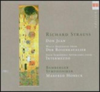 Don Juan - Interludi da Intermezzo - Sequenza da Der Rosenkavalier - CD Audio di Richard Strauss,Bamberger Symphoniker,Manfred Honeck