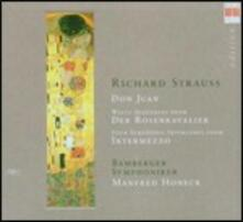 Don Juan - Interludi da Intermezzo - Sequenza da Der Rosenkavalier - CD Audio di Richard Strauss,Bamberger Symphoniker,Manfred Honeck