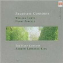 Exquisite Consorts - CD Audio di Henry Purcell,William Lawes