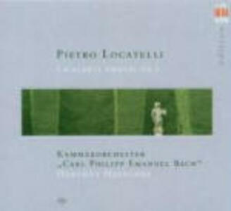 Concerti grossi op.7 - CD Audio di Pietro Locatelli