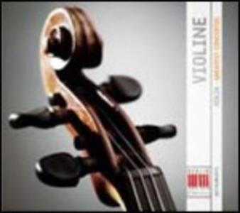 Violine. Greatest Concertos - CD Audio di Johann Sebastian Bach,Ludwig van Beethoven,Johannes Brahms,Franz Joseph Haydn,Wolfgang Amadeus Mozart,Antonio Vivaldi,Felix Mendelssohn-Bartholdy