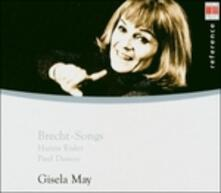 Brecht Songs - CD Audio di Berthold Brecht,Gisela May