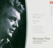Arie d'opera - CD Audio di Wolfgang Amadeus Mozart,Hermann Prey,Staatskapelle Dresda,Otmar Suitner