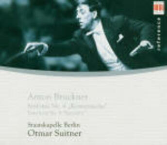 Sinfonia n.4 - CD Audio di Anton Bruckner,Staatskapelle Dresda,Otmar Suitner