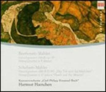 Quartetto op.95 / Quartetto D810 - CD Audio di Ludwig van Beethoven,Franz Schubert,Orchestra da camera C.Ph.E. Bach,Hartmut Haenchen