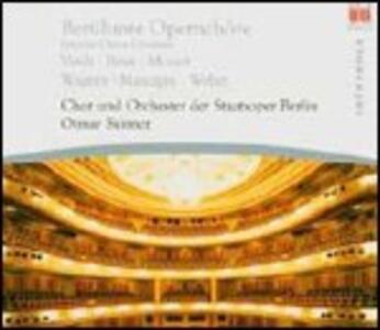 Cori famosi da opere - CD Audio di Otmar Suitner