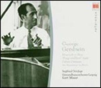 Rapsodia in blu - Cuban Ouverture - Un americano a Parigi - CD Audio di George Gershwin,Kurt Masur,Gewandhaus Orchester Lipsia