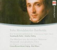 Ein Sommernachtstraum - Ouvertures - CD Audio di Felix Mendelssohn-Bartholdy,Kurt Masur,Günther Herbig,Gewandhaus Orchester Lipsia,Staatskapelle Berlino