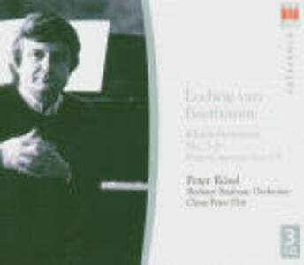 Concerti per pianoforte completi - CD Audio di Ludwig van Beethoven,Claus Peter Flor,Berliner Symphoniker,Peter Rösel