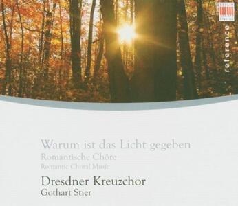 Musica corale romantica - CD Audio di Dresdner Kreuzchor
