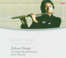 Concerti per flauto - CD Audio di Antonio Vivaldi,Peter Schreier,Eckart Haupt