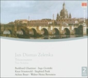 Sonate a tre - CD Audio di Jan Dismas Zelenka