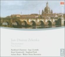 Sonate a tre - CD Audio di Jan Dismas Zelenka