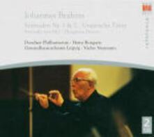 Serenate n.1, n.2 - Danze ungheresi - CD Audio di Johannes Brahms,Gewandhaus Orchester Lipsia,Orchestra Filarmonica di Dresda,Vaclav Neumann,Heinz Bongartz