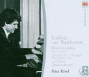 Sonate per pianoforte op.31/2, op.31/3, op.78, op.106 - CD Audio di Ludwig van Beethoven,Peter Rösel