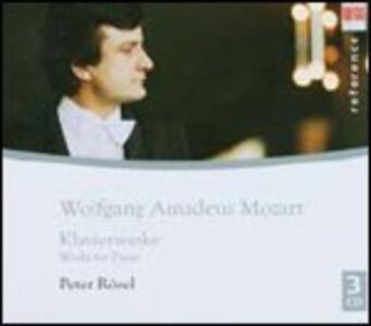 Sonate, fantasie e variazioni - CD Audio di Wolfgang Amadeus Mozart,Peter Rösel
