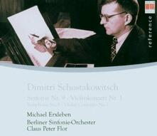 Sinfonia n.1 - Concerto per violino - CD Audio di Dmitri Shostakovich