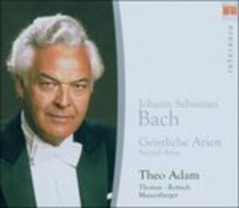Geistliche Arien. Sacred A - CD Audio di Johann Sebastian Bach