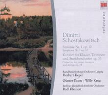 Sinfonia n.1 - CD Audio di Dmitri Shostakovich