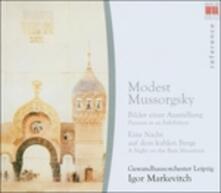 Quadri di un'esposizione (Pictures at an Exhibition) - Una notte sul Monte Calvo - CD Audio di Modest Petrovich Mussorgsky,Igor Markevitch,Gewandhaus Orchester Lipsia