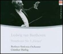 Sinfonia n.3 - CD Audio di Ludwig van Beethoven,Berliner Symphoniker,Günther Herbig