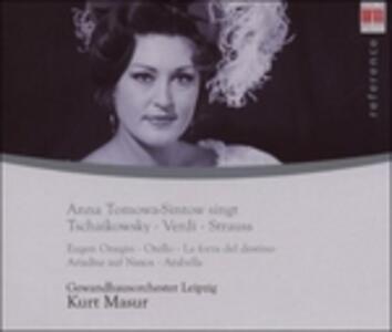 Singt Tchaikovsky, Verdi - CD Audio di Anna Tomowa-Sintow