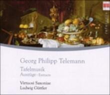 Tafelmusik - CD Audio di Georg Philipp Telemann,Ludwig Güttler,Virtuosi Saxoniae