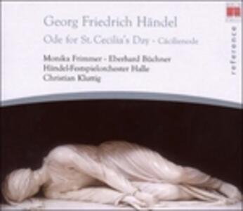 Ode per il giorno di Santa Cecilia - CD Audio di Georg Friedrich Händel