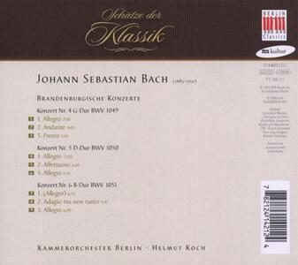 Concerti Brandeburghesi - CD Audio di Johann Sebastian Bach - 2