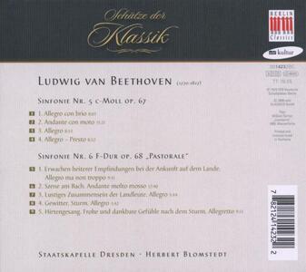 Sinfonie n.5, n.6 - CD Audio di Ludwig van Beethoven - 2