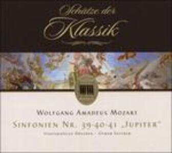 Sinfonie N.39, N.40, N.41 - CD Audio di Wolfgang Amadeus Mozart