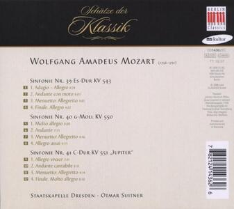 Sinfonie N.39, N.40, N.41 - CD Audio di Wolfgang Amadeus Mozart - 2