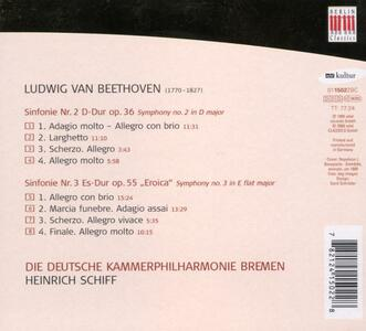 Sinfonie N.2, N.3 - CD Audio di Ludwig van Beethoven - 2