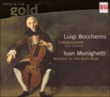 Cellokonzerte - CD Audio di Luigi Boccherini