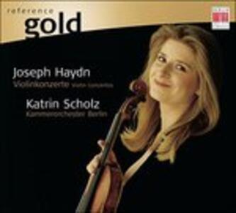 Concerti per Violino Hob 7a. 1, - CD Audio di Franz Joseph Haydn